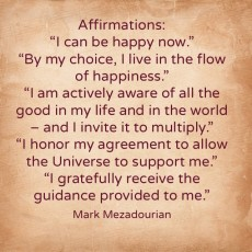 Affirmations – Tuesday, September 2nd