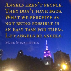 New York City Workshops on Angels, Hope, Guidance & Healing in October