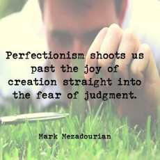 Releasing Perfectionism